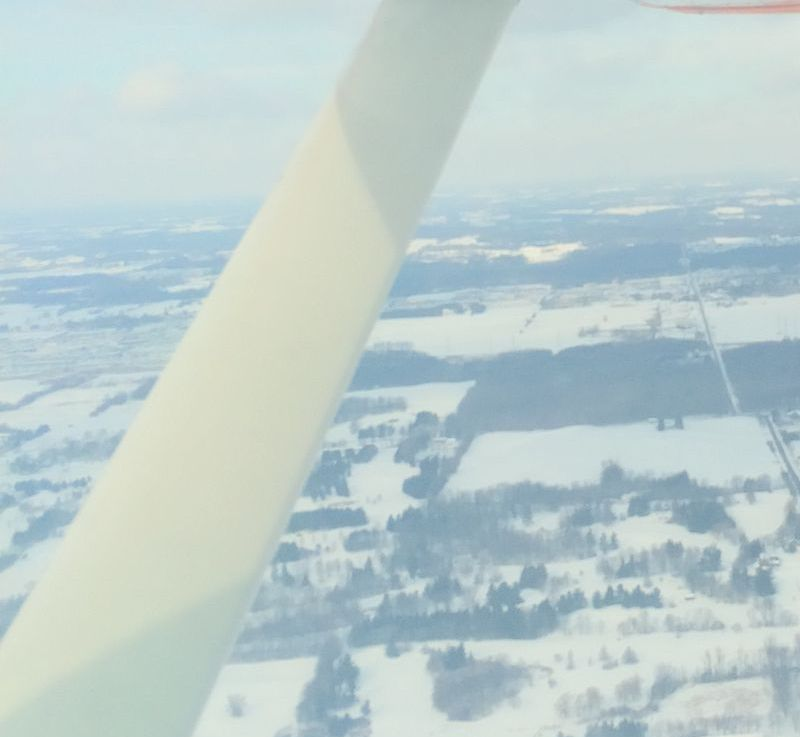 Frosty Flight…..Brrrrr!