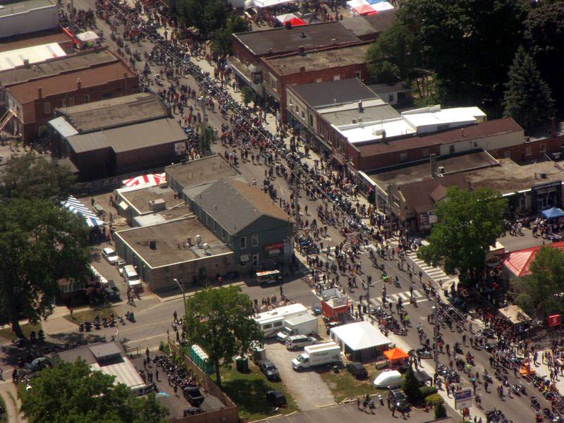 Port Dover Fly-Over For Friday the13th!