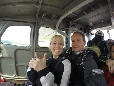 Skydiving Experience Continued andAnalyzed…