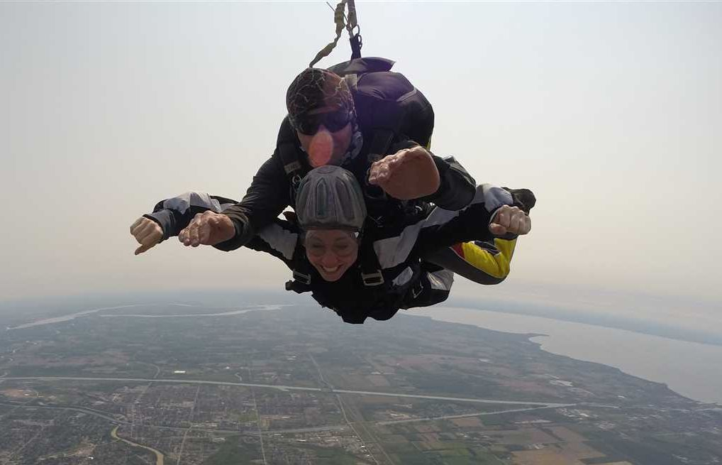 Epic Skydive!